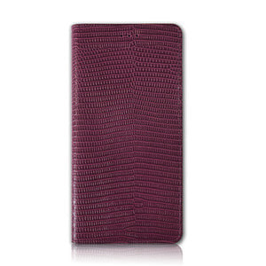 LIZARD_Burgundy Red